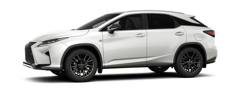 2017 RX 350 <i>F&nbsp;SPORT&nbsp;</i> Series 2 in Ultra White