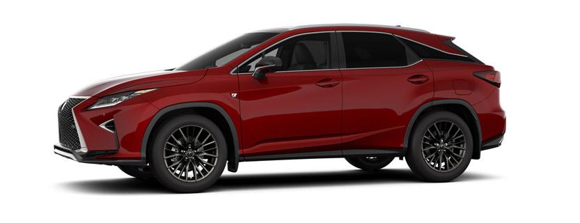 2017 RX 350 <i>F&nbsp;SPORT&nbsp;</i> Series 2 in Matador Red Mica