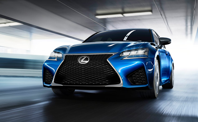 Lexus Announces the Latest Addition to the Daunting F Performance Line: the GS F Sedan