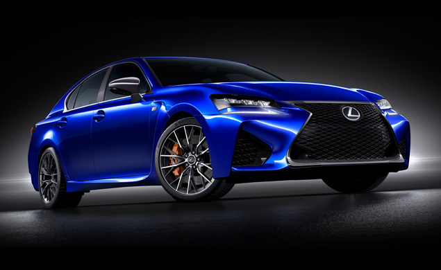Lexus Unveils the Newest Member of Its High-Performance 'F' Series: The 467hp GS F