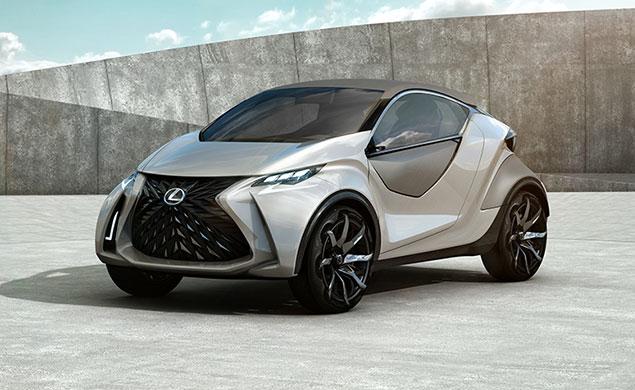 The New Lexus LF-SA Concept Makes Its World Debut At The 2015 Geneva Motorshow