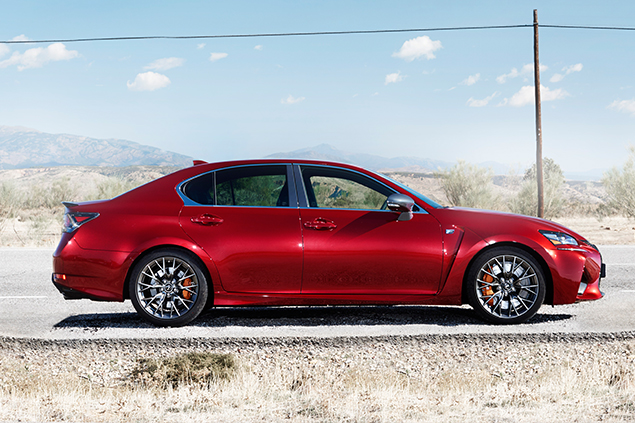 The 2016 Lexus GS F: Fast, Fun and Form At Its Finest