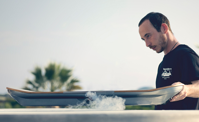 SLIDE: The Lexus Hoverboard Ride Revealed