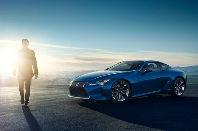 World Premiere of the All New Lexus LC 500h Features Next-Generation Lexus Multi Stage Hybrid System and an All New Platform