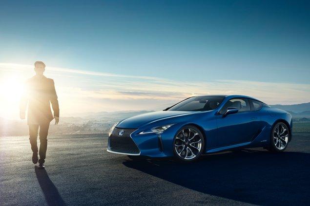 Première mondiale du tout nouveau Lexus LC 500h avec système hybride multiphase Lexus de prochaine génération et toute nouvelle plate-forme