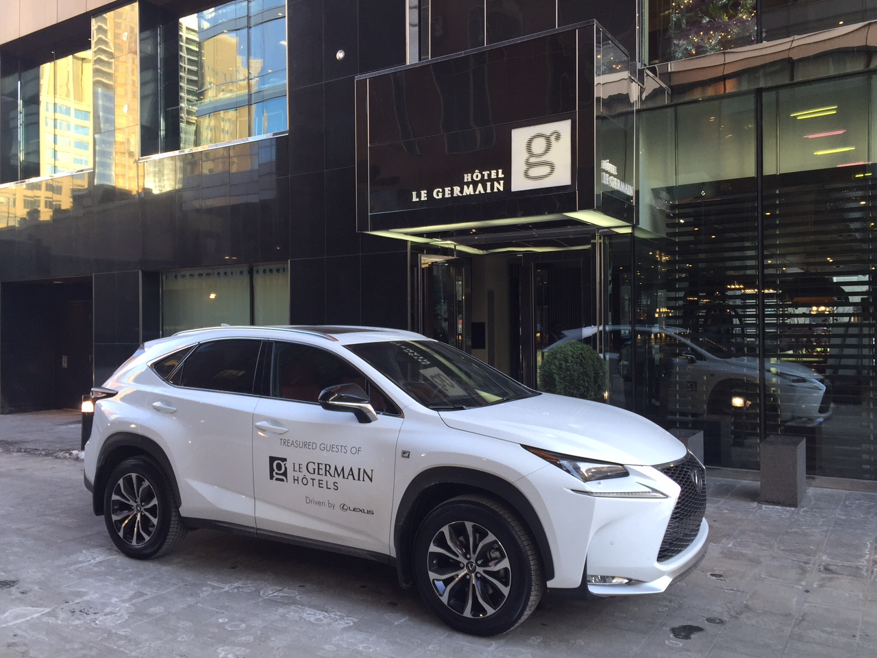 Le Germain Hotels Put Guests In The Driver's Seat Of A Lexus