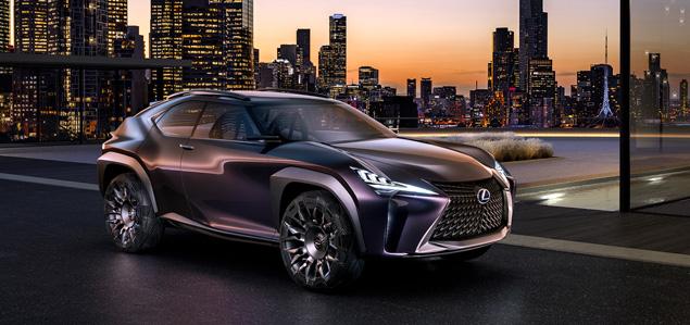 Première mondiale du véhicule concept Lexus UX