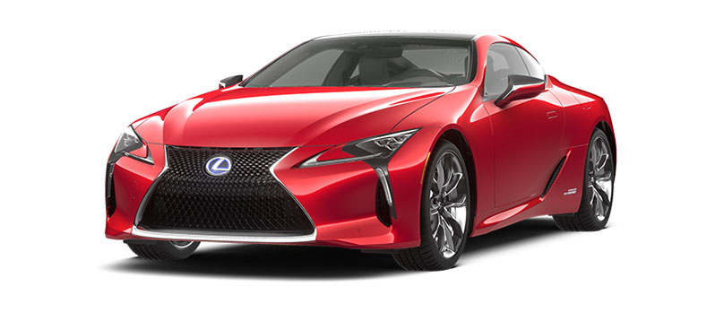 LC 500h in Infrared
