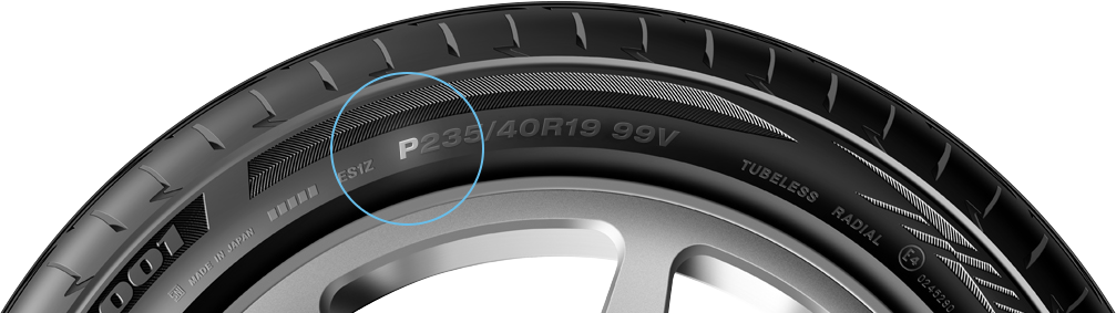 A passenger car tire