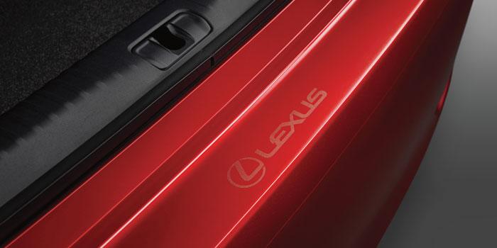 2017 Lexus RC Rear Bumper Appliqué