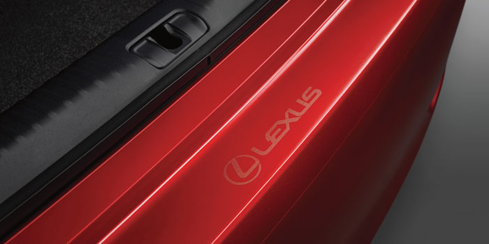 2017 Lexus RCF Rear Bumper Appliqué