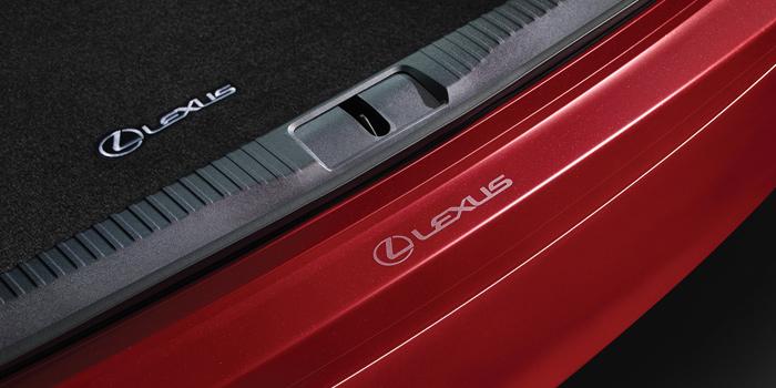 2017 Lexus GS Rear Bumper Appliqué