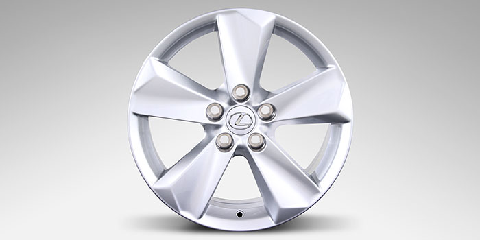 "2017 Lexus NX 17"" Winter Alloy Wheels (5 Spoke)"