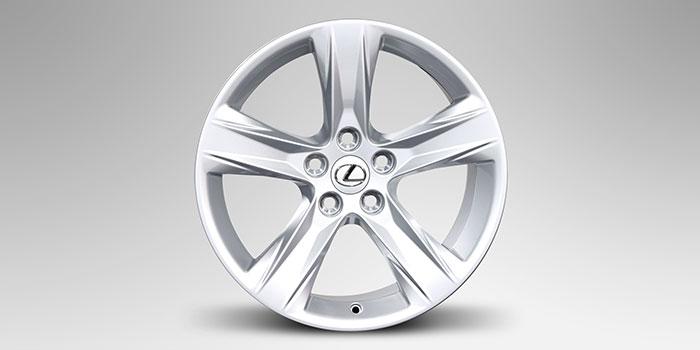 """2017 Lexus RX 18"""" Winter Alloy Wheels (5 Spoke)"""