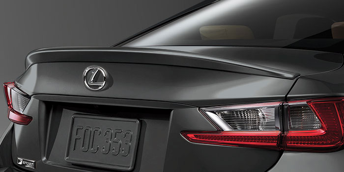 2017 Lexus RC Rear Spoiler