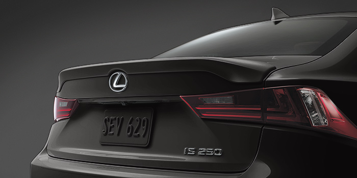 2017 Lexus IS Rear Spoiler