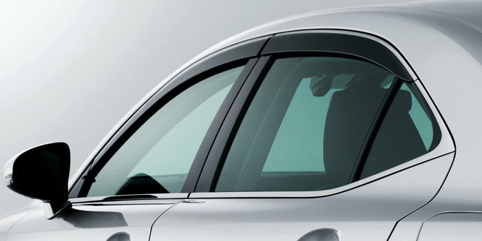 2017 Lexus IS Side Window Deflectors