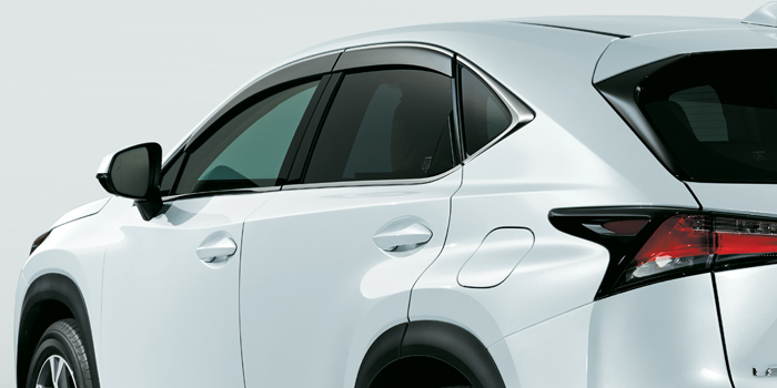 2017 Lexus NX Side Window Deflectors