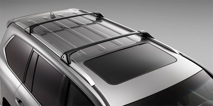 2017 Lexus LX Roof Rack Cross Bars