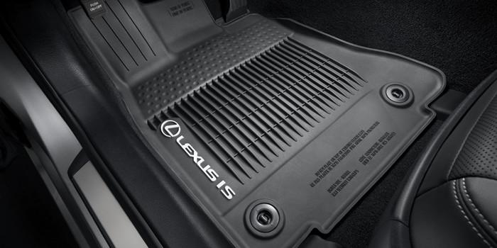Lexus IS 2017 Doublures de plancher toutes saisons