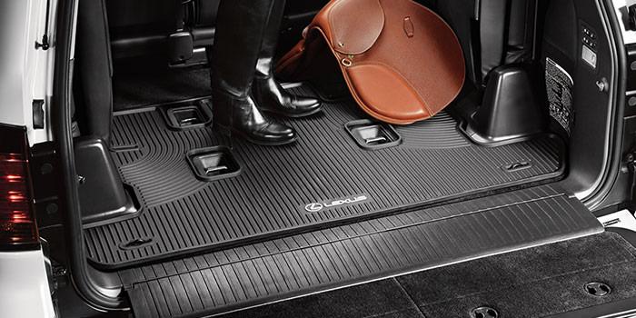 Lexus LX 2018 Doublure de compartiment de charge