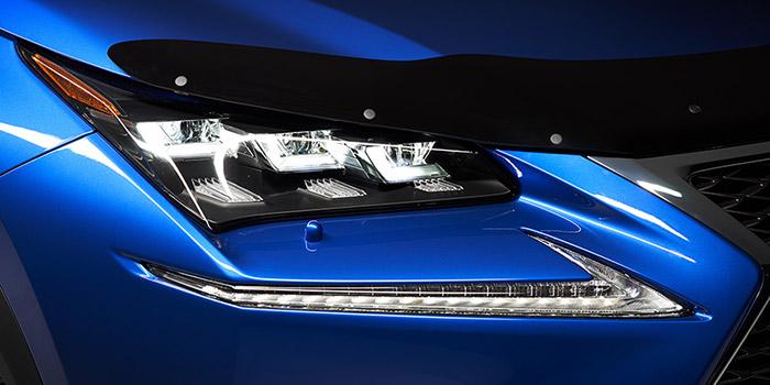 Lexus NX 2018 Déflecteur de capot
