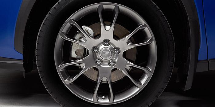 "2018 Lexus NX F SPORT 19"" Alloy Wheel"