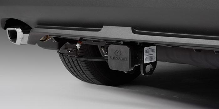 Lexus NX 2018 Remorquage de 2 po, bouchon d'attelage, faisceau de câblage