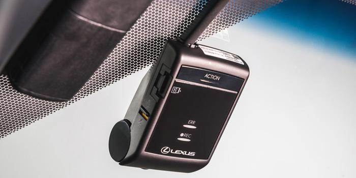 Lexus NX 2018 Caméra de bord d'origine Lexus