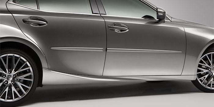 Lexus ES 2018 Moulures protectrices latérales