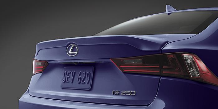 2018 Lexus IS Rear Spoiler