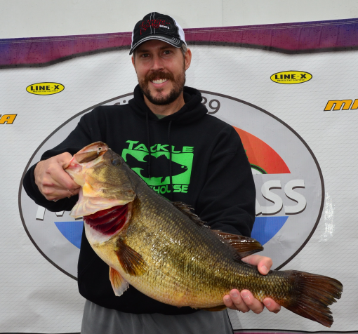 sharelunker 554 bass could be new lake palestine record