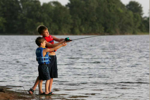 June 7 is free fishing day in texas for Lake palestine fishing