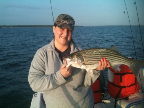 Fishing report for march 17 2012 for Lake texoma fishing report