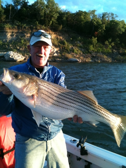 Lake texoma fishing report for april 4 2012 for Fishing guides on lake texoma