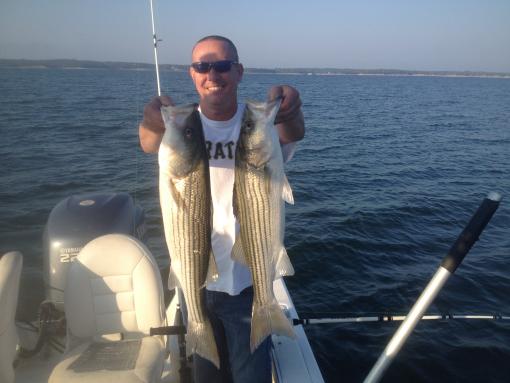 October at texoma for Lake texoma fishing report