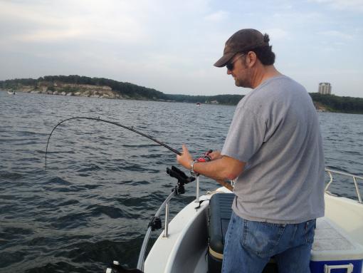 Lake texoma fishing report for may 2012 for Lake texoma fishing report