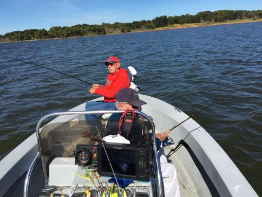 Legendary fall fishing is here lake texoma fishing for Lake texoma fishing report