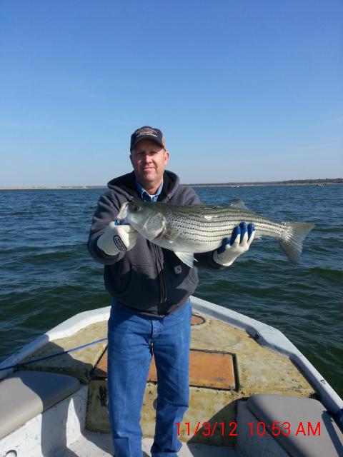 November fishing for Lake texoma fishing report