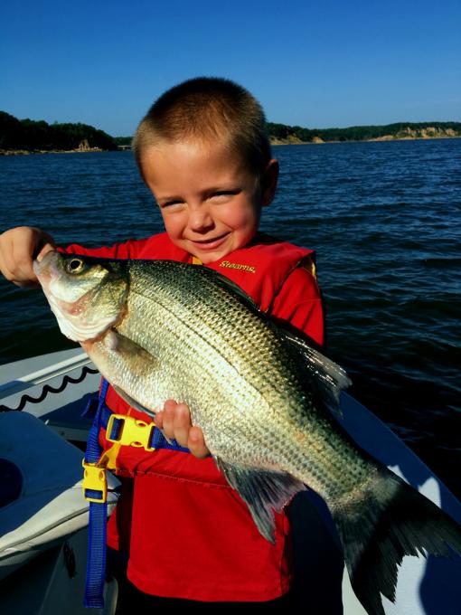 Lake texoma fishing report spring break kid time for Texoma fishing report