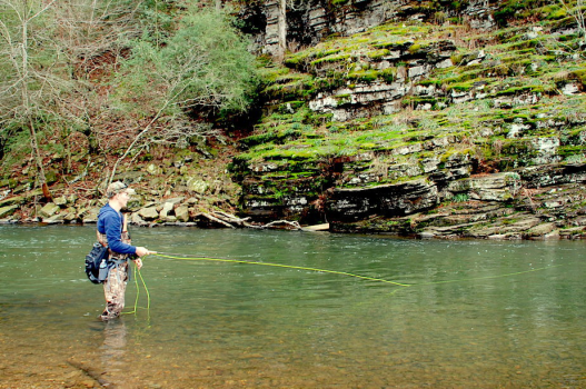 Trout Stocking to Begin Nov. 1 on Lower Mountain Fork River
