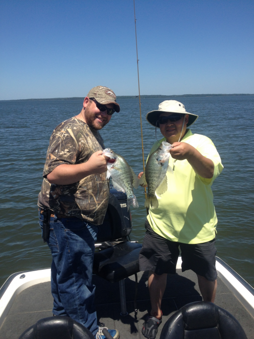 Crappie report 05 07 2014 for Sam rayburn lake fishing report