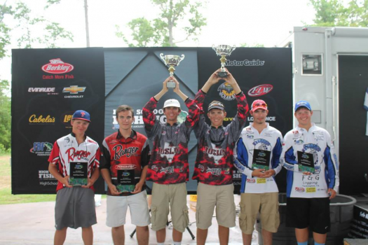 Student angler federation duo wins at sam rayburn for Lake dardanelle fishing report