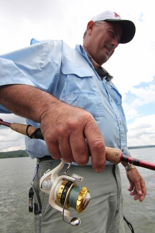 Catch more fish drop shotting for Sam rayburn lake fishing report