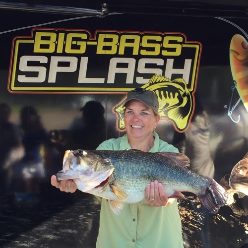 It was her turn to win for Sam rayburn lake fishing report