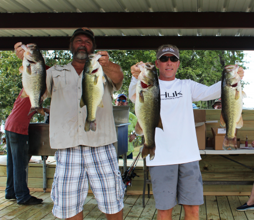 2016 patriots challenge won by john maddox and jeff wise for Sam rayburn lake fishing report