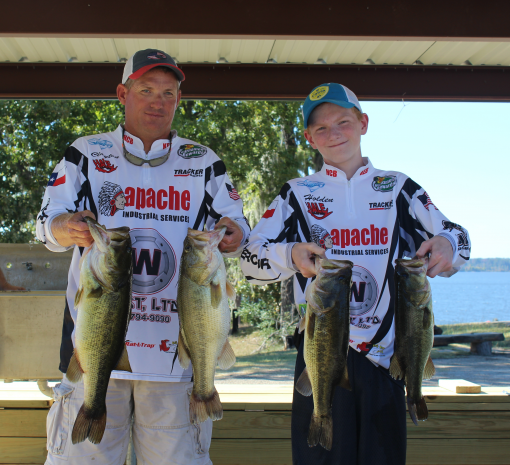 October patriots challange won by wade and spriggs for Sam rayburn lake fishing report