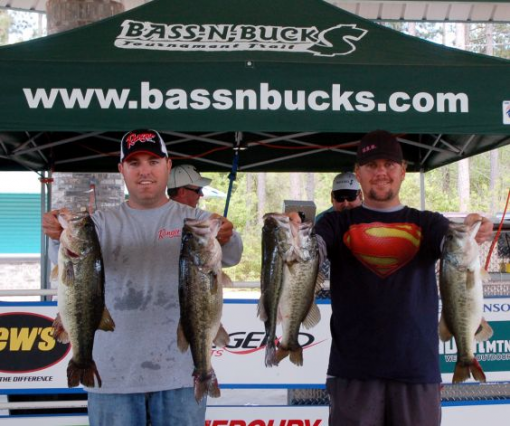 Wilson and bebber take home 8 000 for Sam rayburn lake fishing report