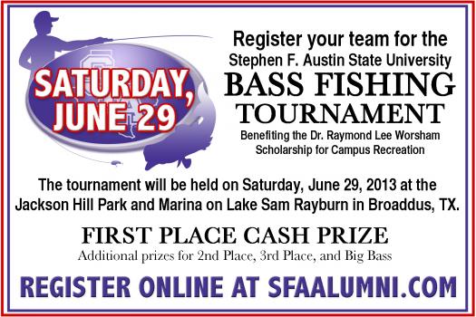 Scholarship bass fishing tournament announced for Bass fishing scholarships