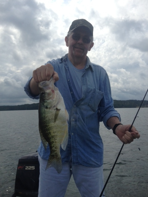 Crappie report 6 15 2013 for Sam rayburn lake fishing report
